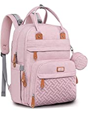 Diaper Bag Backpack, BabbleRoo Baby Nappy Changing Bags