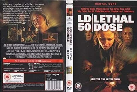 LD50 LETHAL DOSE DVD (USED) - DVD- USED: Amazon co uk: DVD