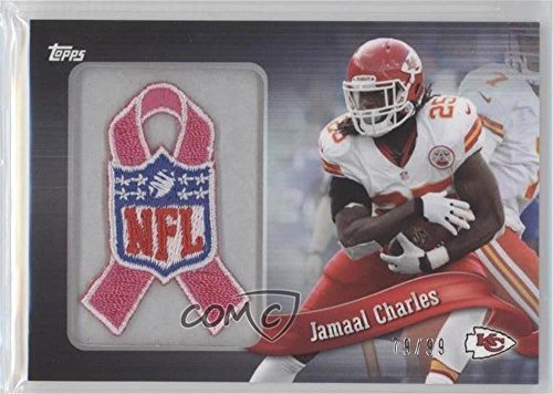 (Jamaal Charles #79/99 (Football Card) 2013 Topps - Blaster Box Commemorative NFL Patch Ribbon - BCA #PR-JC)