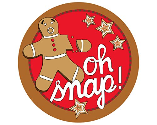 Oh Snap! Gingerbread Man with Broken Arm 6