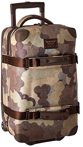 Burton Wheelie Flight Deck Travel Bag, Storm Camo (Deck Travel Bag)