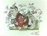 2002 Georgia Bulldogs Autographed/Signed Cal