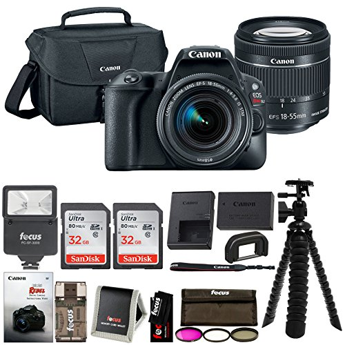 Canon EOS Rebel SL2 SLR Camera with Lens and Accessory Bundle (Premium Bundle) by Focus Camera