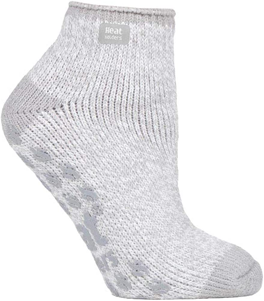 Heat Holders - Ladies low cut thermal slipper ankle socks in 4 colors, 5-9 US