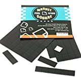 Best Magnetic Tapes - 100-Piece Flexible Magnetic Squares for Light Everyday Use Review