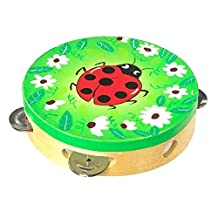 Tambourine Ladybird Design Childrens Musical Percussion Instrument by Small Foot