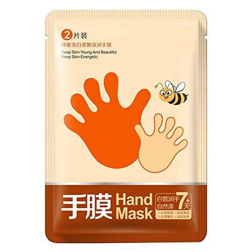 Weixinbuy Honey Baby Hand Spa Remove Hard Dead Skin Whitening Peeling Mask