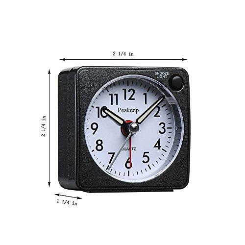 Buy digital travel alarm clock no bells no whistles