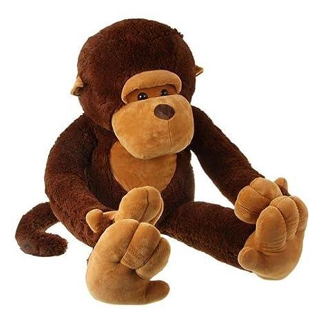 Juguetes gigantes de peluche de mono para niñas y niños: Amazon.es: Juguetes y juegos