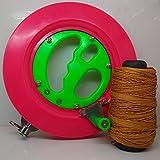 KENGEL Color Kite Ballbearing Reel Line Winder Grip Wheel + 200M Tire Line Kite Flying Combos