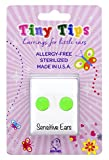 STUDEX Tiny Tips Stainless Steel Neon Green Stud