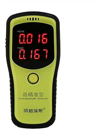 Detector y medidor de formaldehído, analizador de probador de prueba de Hcho y Tvoc del