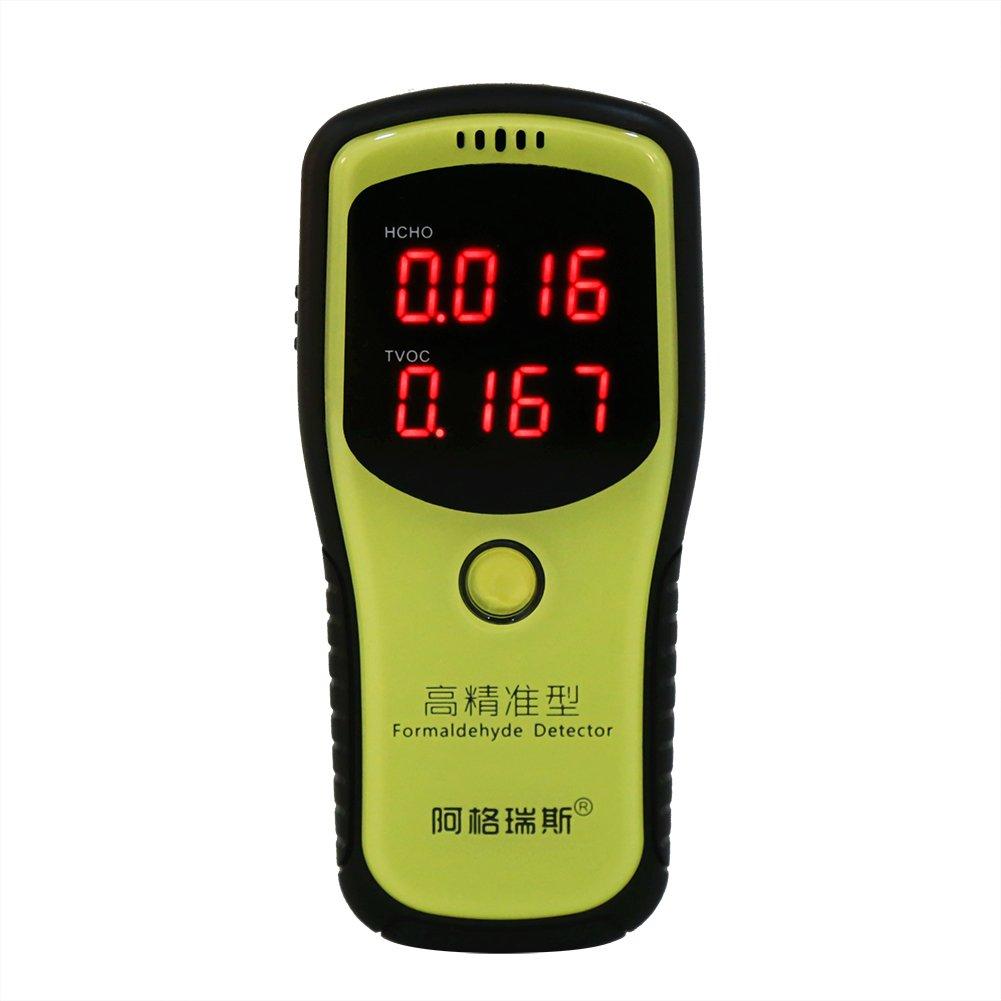 Digital Formaldehyd Detektor LCD Anzeige Formaldehyd Monitor HCHO & TVOC Meter Luft Qualitä ts Prü fvorrichtung Messgerä t fü r die Prü fung der Innenluft Hauptqualitä t Zerodis