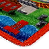 "Thomas the Train Play Mat HD Digital Thomas and Friends Railway Road Rug Kids Bedding Area Rugs, 40"" x 54"""