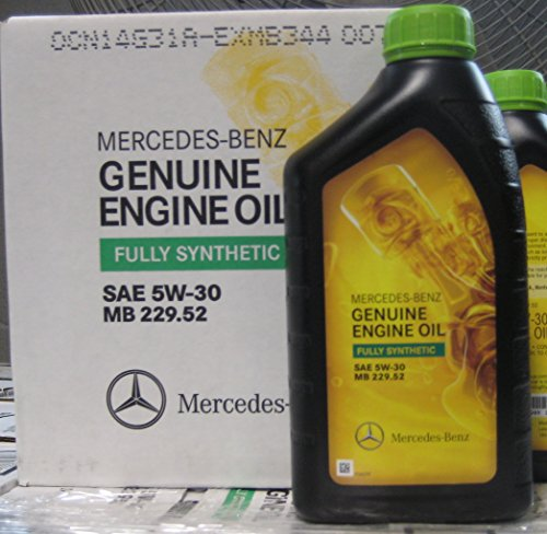 Mercedes Benz 5W30 Synthetic Oil 229.52 - 1 case of 6 - Mercedes Diesel