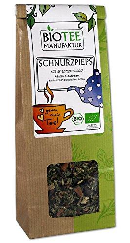 Schnurzpieps - Bio, Wellness Tee, Honigbuschtee lose (1 x 80g)