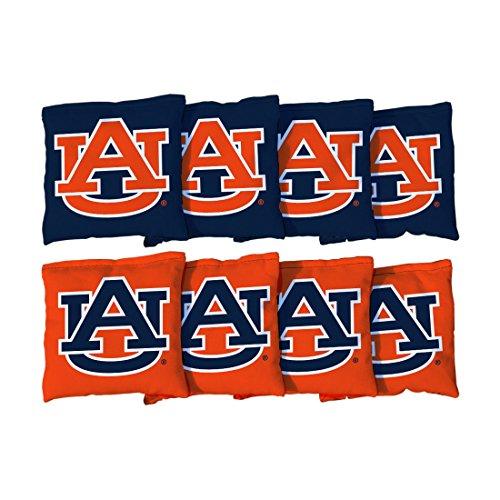 8 Auburn University Tigers Regulation Cornhole Bags (corn (Auburn Bag)