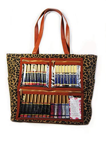 WOW Direct Sales Bag LipSense by SeneGence Clear Front Pockets Display Tote Purse Clear Windows