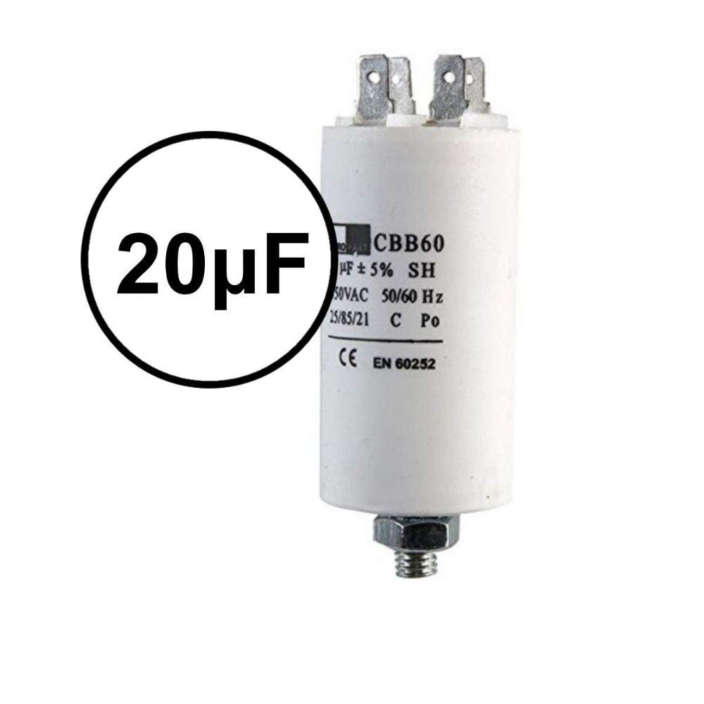 UTP 20/μF Start Run Motor Capacitor Compressor Air conditioning Water Air Pump 20uF CBB60 Microfarad
