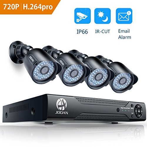 JOOAN 404AHD Security Camera System HD-TVI