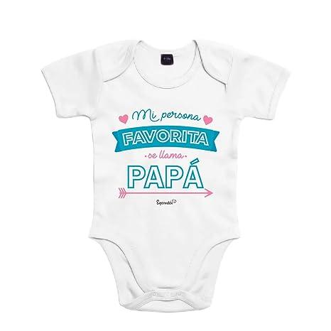 SUPERMOLON Body bebé algodón Mi persona favorita se llama ...
