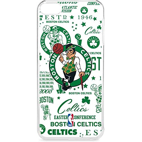 Skinit NBA Boston Celtics iPod Touch 6th Gen LeNu Case - Boston Celtics Historic Blast Design - Premium Vinyl Decal Phone Cover (Boston Celtics Snap)