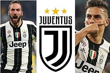 Cialda Ostia Pour Gateau Juventus Higuain Dybala Football Decoration