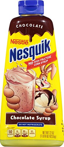 NesQuik Chocolate Syrup, 22 oz