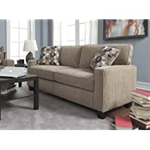 Serta at Home Santa Cruz Collection Sofa, Platinum Fabric, CR-43534