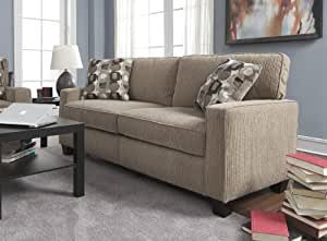 "Serta RTA Palisades Collection 73"" Sofa in Flagstone Beige"
