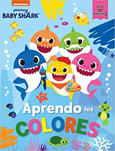 Aprendo los colores con Baby Shark de Nickelodeon