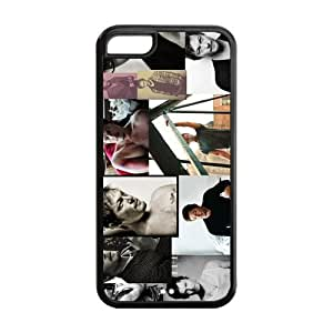Hot Actor Norman Reedus Daryl Dixon Inspired Design TPU Case Back Cover For Iphone 5c iphone5c-NY1117