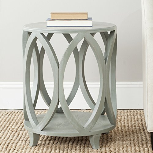 Safavieh American Homes Collection Janika Accent Table, Ash