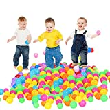 Binglinghua Wholesales 1000PCS Colorful Soft Plastic Pit Ball Seven Colors Balls 5.5cm