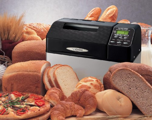 Zojirushi BB-CEC20 Home Bakery Supreme 2-Pound-Loaf Breadmaker, Black