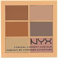 Nyx 3C Concealer Palette Light 6X1,5Gr, Full Size