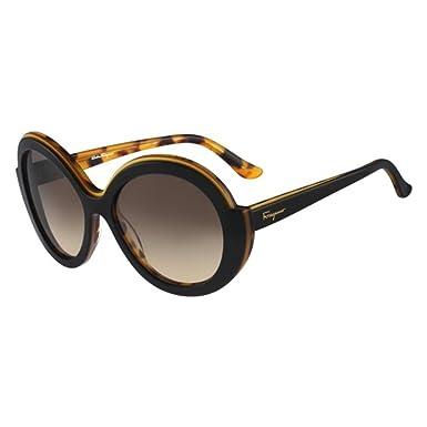 5d95b64881cd Image Unavailable. Image not available for. Color: Salvatore Ferragamo  Women's Colorblock Sunglasses ...