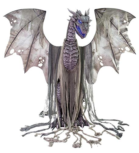 Seasonal Visions Animated Winter Dragon Prop]()