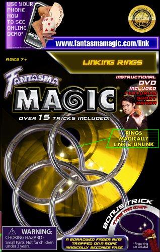 Fantasma Toys Linking Rings with DVD