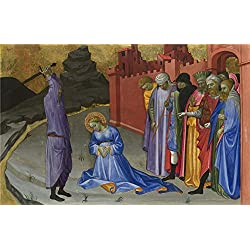 Oil Painting 'Gherardo Di Jacopo Starnina (Master Of The Bambino Vispo) The Beheading Of Saint Margaret' 8 x 12 inch / 20 x 32 cm , on High Definition HD canvas prints, Hallway, Laundry Room, decor