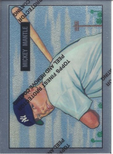 Mickey Mantle 1996 Topps Finest #1 1951 Bowman