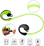 KOCASO Wireless Bluetooth LED Illuminated Glowing Sport Headset - Best Reviews Guide