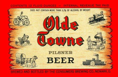 Olde Towne Pilsner Beer 48