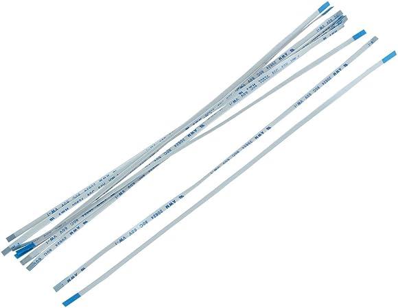 15cm 50Pin 1mm Pitch Flexible Flat Cable FFC FPC AWM 20624 80C 60V VW-1