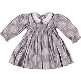 Little Girl's Long Sleeve Tree Print Smocked Dress (18M)