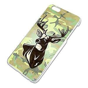 Deer Hunting Green Camouflage Slim Fit Hard Case Fits Apple iPhone 6 Plus