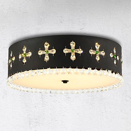 Kristall Rund W LED Schlafzimmer Deckenleuchte Lampe Beschläge - Deckenleuchte schlafzimmer modern