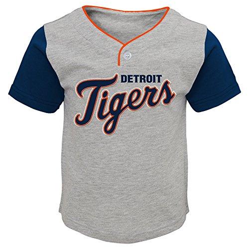 OuterStuff MLB Detroit Tigers Toddler Boys Batting Practice Short Set-4T (Toddler Tigers Apparel)