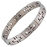 Ultimate54 Magnetic Therapy Pain Relief Bracelet for Men and Women, (2000 Gauss Strong) and Free Link Removal Tool (8.75 inches)