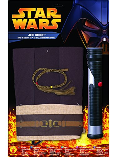 Star Wars Rubie's Men's Adult Jedi Kit, Multicolor, One (Adult Jedi Costume Accessory)